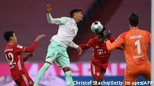 Deutschland Bundesliga - Bayern München v Werder Bremen