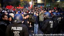 Deutschland | Coronavirus | Anti-Lockdown Proteste in Leipzig