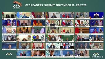 Саммит большой двадцатки в видео-формате в ноябре 2020 года