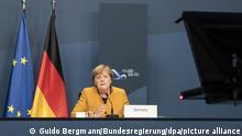 Virtueller G20-Gipfel unter Vorsitz Saudi-Arabiens I Angela Merkel