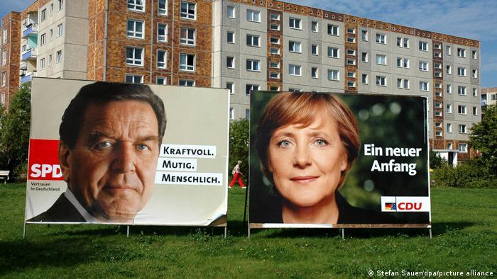 Deutschland Wahlwerbung in Mecklenburg-Vorpommern
