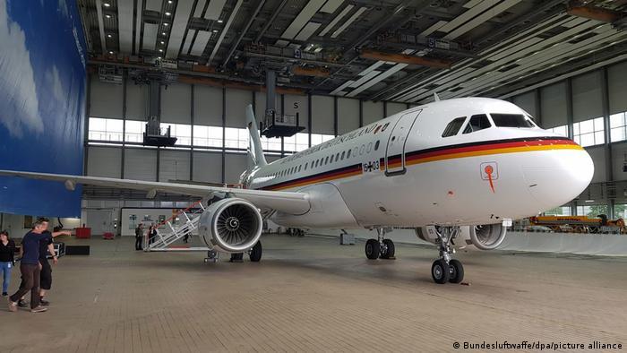 Германский самолет для участия в инспекциях ДОН