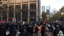 Deutschland Demo gegen Infektionsschutzgesetz in Frankfurt