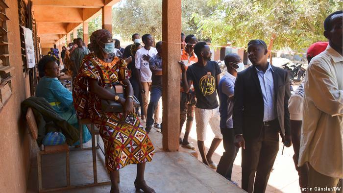Burkina Faso Wahlen 2020 | Wahllokal in Ouagaodougou