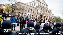 Deutschland Hannover | Coronavirus | Protest gegen Maßnehmen