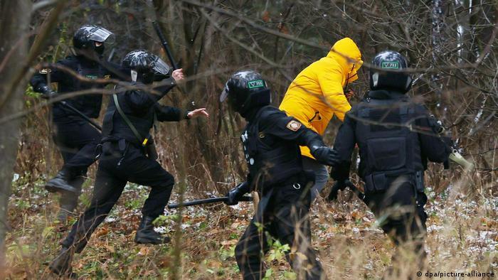 Задержания в Минске 22 ноября