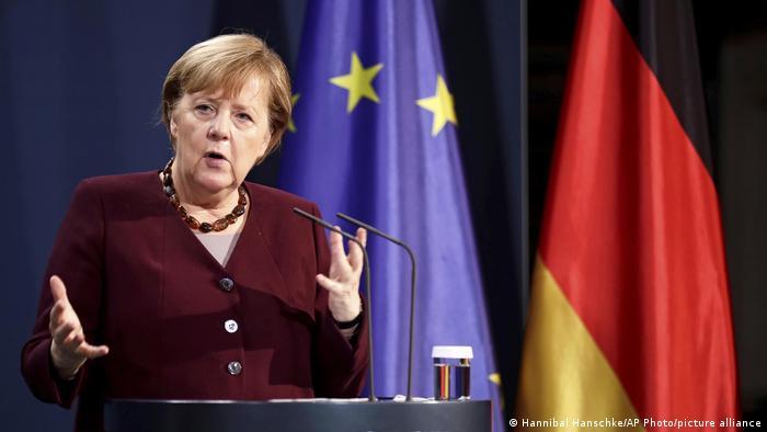 """""""Liczba infekcji ciągle jeszcze jest za wysoka"""" – kanclerz Angela Merkel w Berlinie, po wirtualnym szczycie G20"""
