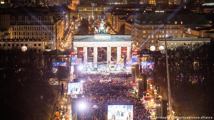 Berlin Revelion 2019 | Poarta Brandenburg