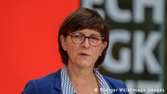 Сопредседатель партии СДПГ Заскиа Эскен