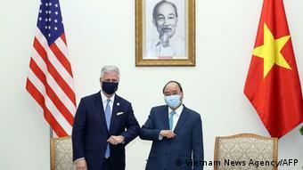 Vietnam US-Sicherheitsberater Robert O'Brien in Hanoi