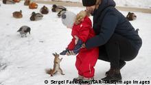 BdTD   Russland Moskau   Erster Schnee