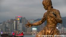 Cityscape Hong Kong Bruce Lee
