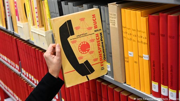 Телефонный справочник Столицы Германской Демократической Республики, 1989 год