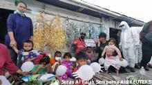 Malaysia Kerindingan Island | Coronavirus | Hilfsarbeiter