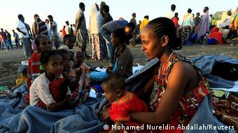 Äthiopien Tigray Konflikt Flüchtlinge