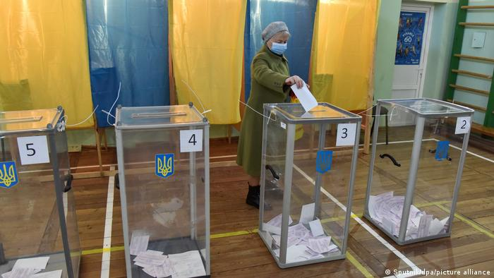 Під час місцевих виборів в Україні