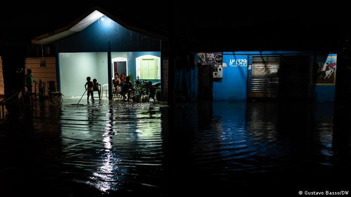 Enchente em Macapá