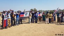 Mosambik | Protest gegen Ossufo Momade