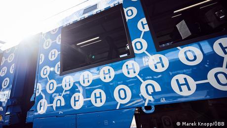 Alstom hydrogen-powered train