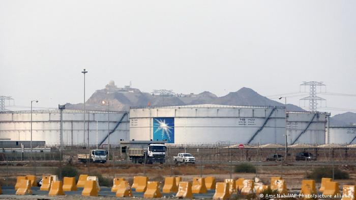 Saudi-Arabien Jiddah | Aramco | Lagertank