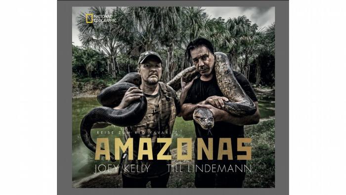 Джой Келлі, Тілль Ліндеманн. Амазонка - подорож до Жаварі (видавництво National Geographic, 240 с.)
