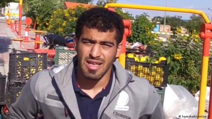 Iran Mohsen Madhhani, U17-Weltmeister im Ringen