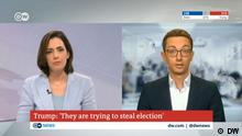 DW Team Fact-checking | Sarah Kelly & Joscha Weber, Live-Gespräch