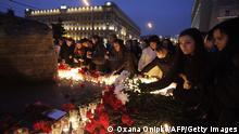 Russland Moskau 2010 | Anschlag auf Metro | Trauer