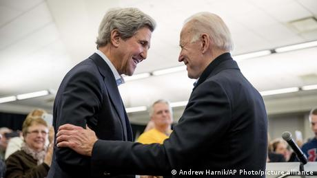 USA | Wahlkampagne Präsidentschaftswahl | Joe Biden und John Kerry