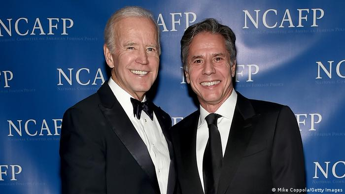 Joe Biden and Anthony Blinken