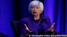 Ehemalige Vorsitzende der Federal Reserve Janet Yellen