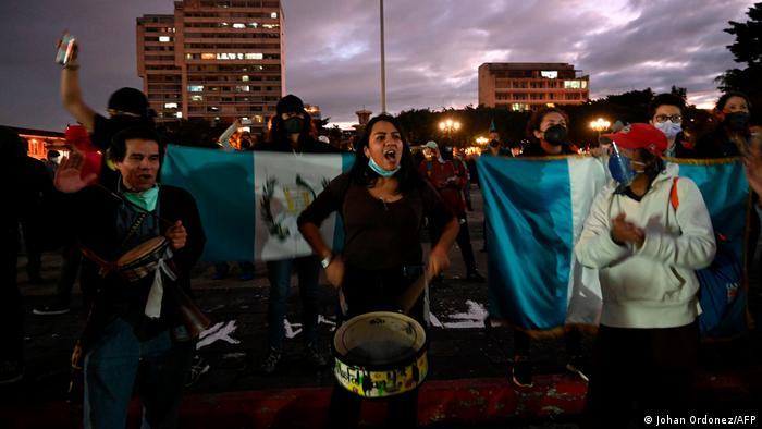 Guatemala | Anti-Regierungs-Proteste