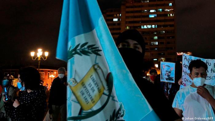 Guatemala | Anti-Regierungs-Proteste