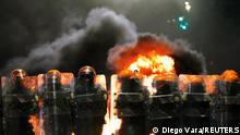 Brasilien | Joao Alberto Silveira Freitas | Nach Tod durch Sicherheitspersonal im Supermarkt | Ausschreitung