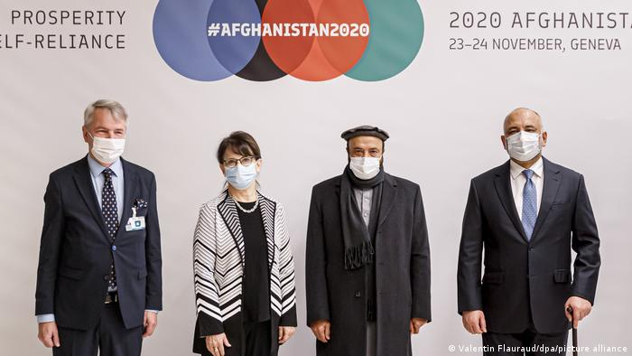 Afghan donor conferene in Geneva, on November 24, 2020