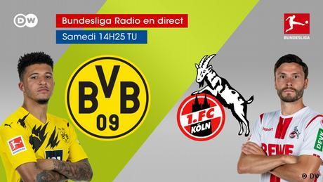 Bundesliga Spieltag 9 Dotmund Köln fra