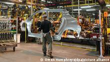 Großbritannien Sunderland | Autoproduktion | Nissan-Werk