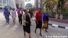 Tansania Dodoma |Parlamentsmitglieder der Oppositionspartei CHADEMA