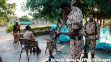 Äthiopien Tigray Soldaten Kämpfer