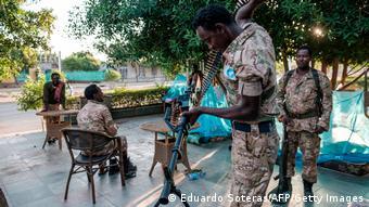 Combattants du Front de libération du Peuple du Tigré