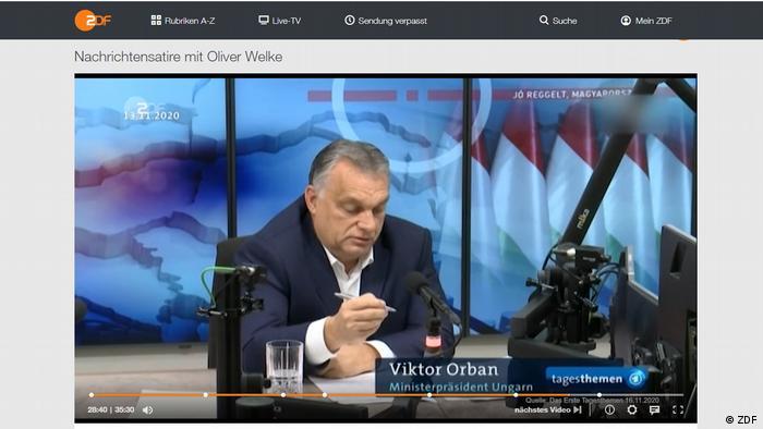 """""""Mađarski gulaš s ušima"""": Viktor Orban u prilogu emisije ZDF """"heute-show"""""""