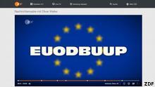Screenshot Webseite ZDF Heute Show