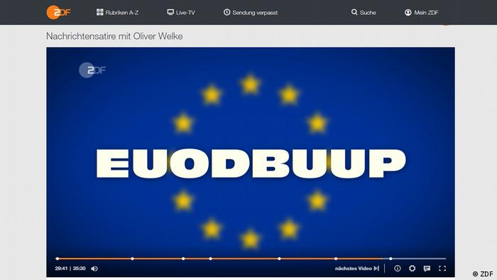 Z programu heute-show: nowa UE bez Polski i Węgier