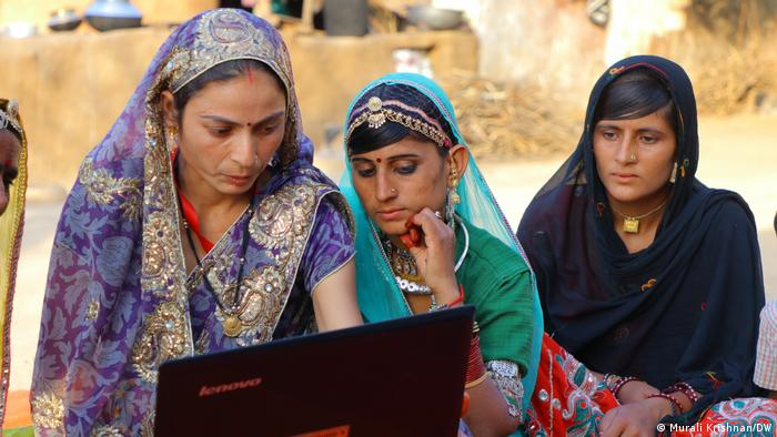 Until a few years ago, menstrual health and hygiene were considered taboo subjects in Banjara communities. Now, various health programs are available for Banjara women. Several NGOs are also offering digital training to help more women in Bansur become computer literate.