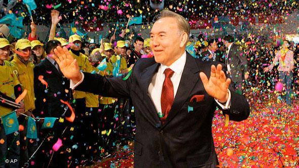 رئیس جمهور قزاقستان لقب پدر ملت را گرفت