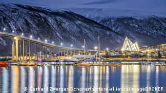 Λουκέτα και στην πολυσύχναστη πόλη του Τρόμσο, στη βόρεια Νορβηγία