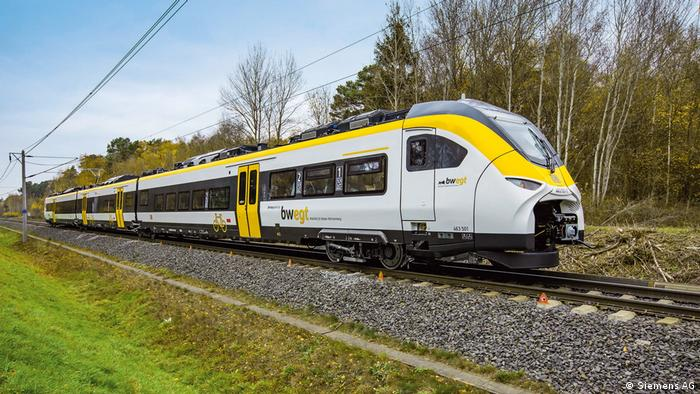 Regional train made by Siemens