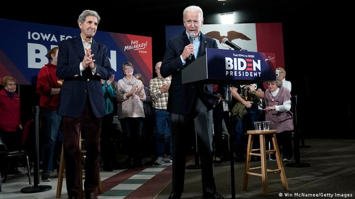 USA Iowa 2019 | Joe Biden & John Kerry