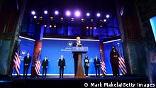 USA Wilmington, Delaware | Joe Biden, Vorstellung Team | Joe Biden