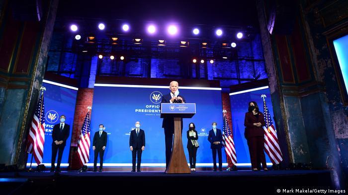 USA Wilmington, Delaware |Joe Biden, Vorstellung Team |Joe Biden